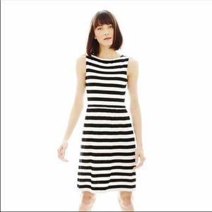 Joe Fresh black and white dress
